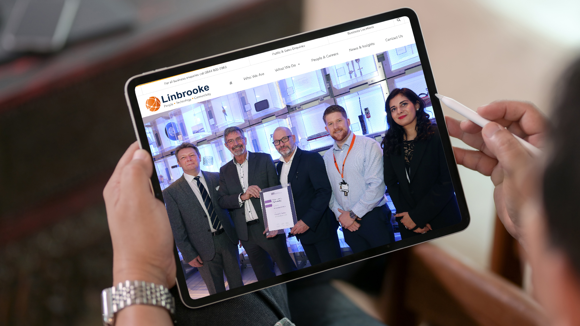 Linbrooke - Institute of Engineering and Technology Partnership